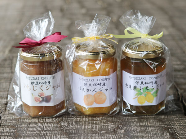 伊豆松崎産フランボワーズのジャム3種セット
