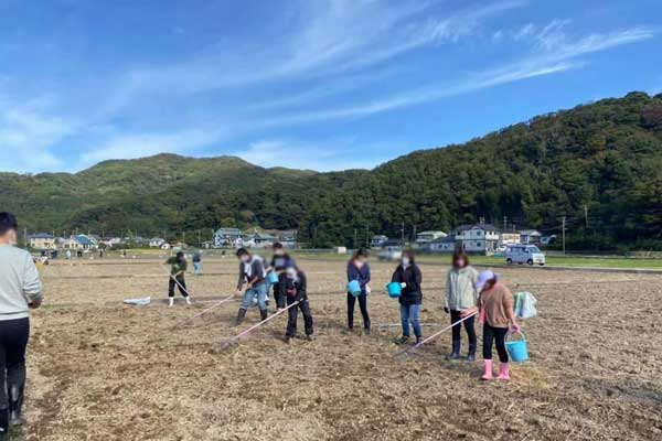 松崎町の花畑実行委員会2021の活動