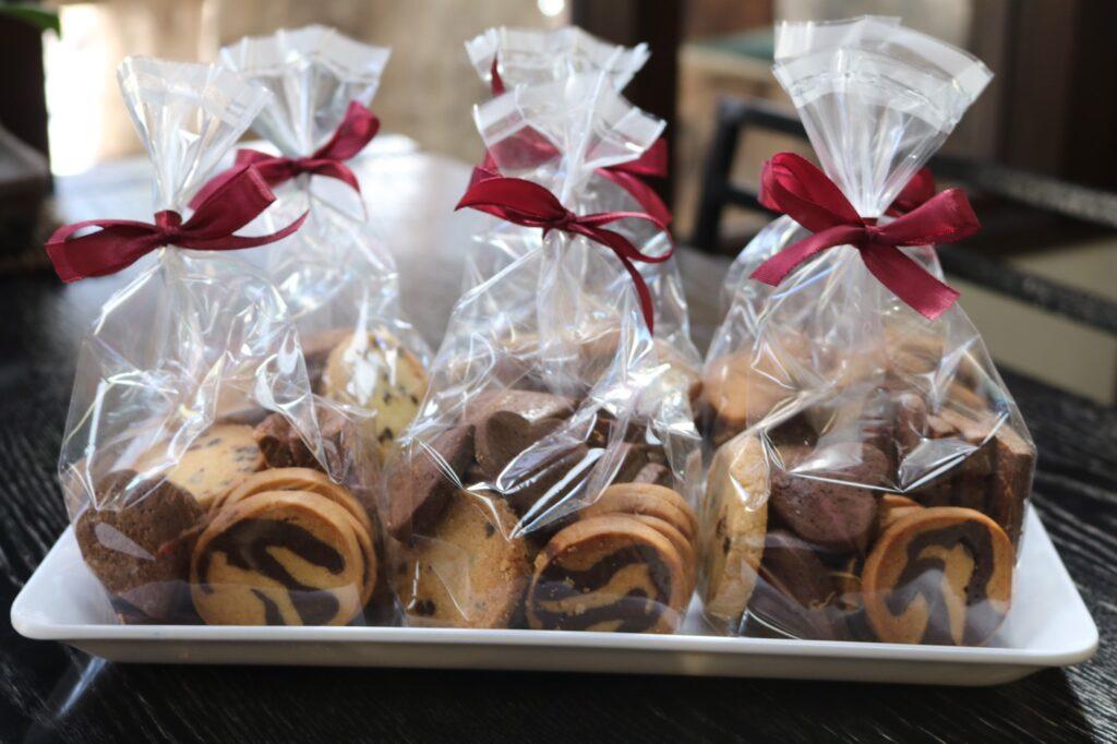バレンタイン用チョコレートクッキー詰め合わせ複数
