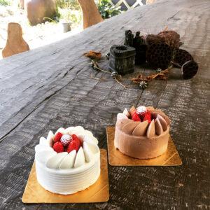 生クリームデコレーション・チョコレートクリームデコレーション